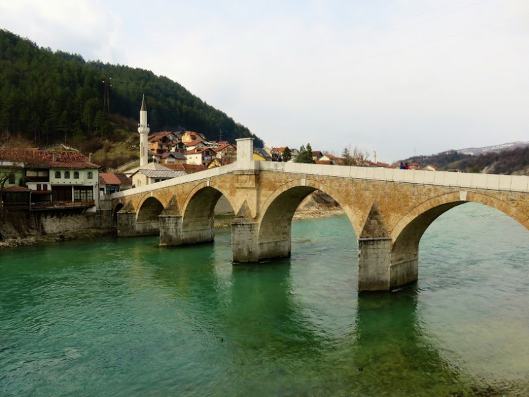 Old bridge in Konjic. A great day trip from sarajevo in your Bosnia itinerary