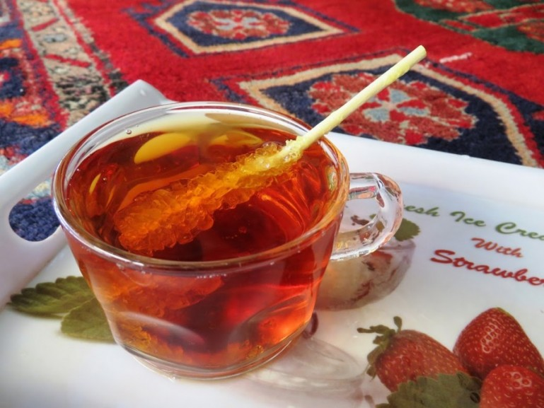 Tea is central in Persian cuisine