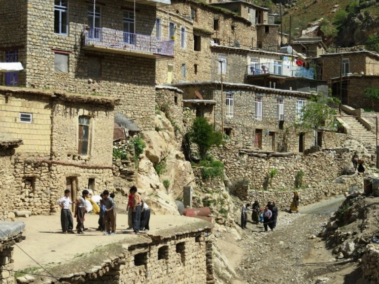 Palangan: a stepped village in Kurdistan Iran