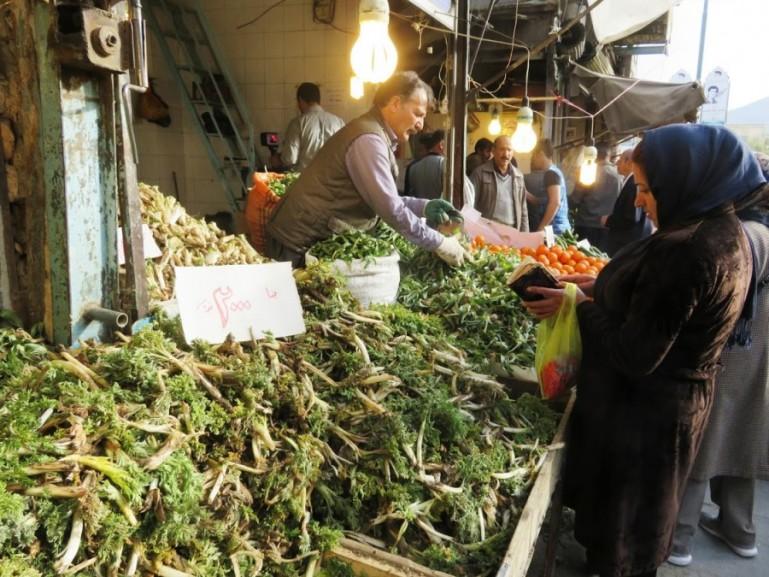 Sanandaj bazaar in Kurdistan Iran