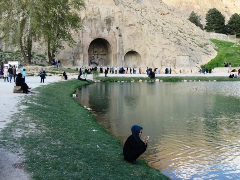 Taqt e bostan is among the top things to do in Kermanshah Iran