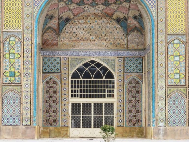 Nabi mosque in Qazvin Iran