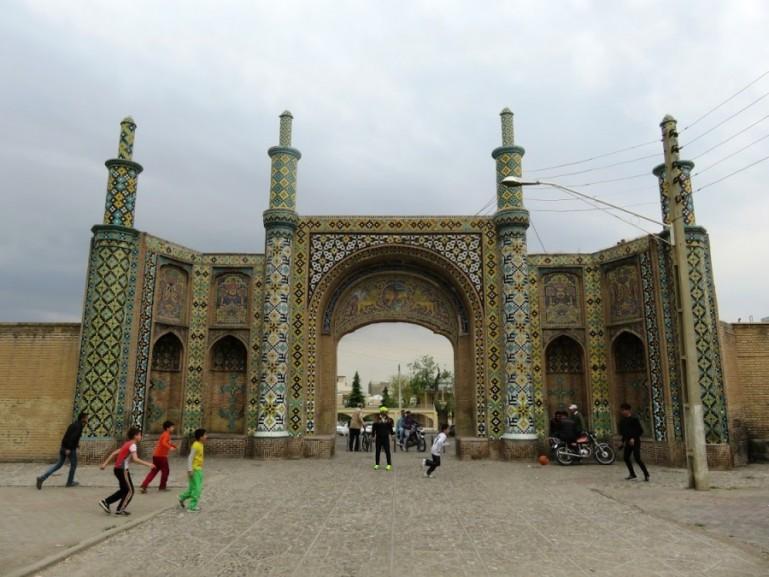 City gate in Qazvin