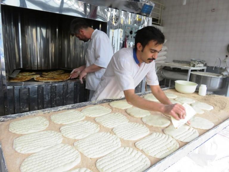 bakery in Qazvin