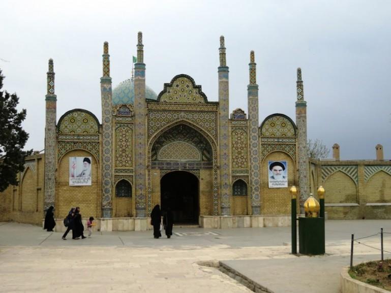 Shrine in Qazvin