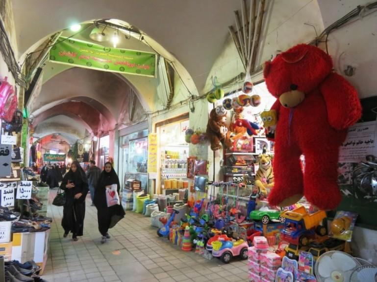 Bazaar in Kashan Iran