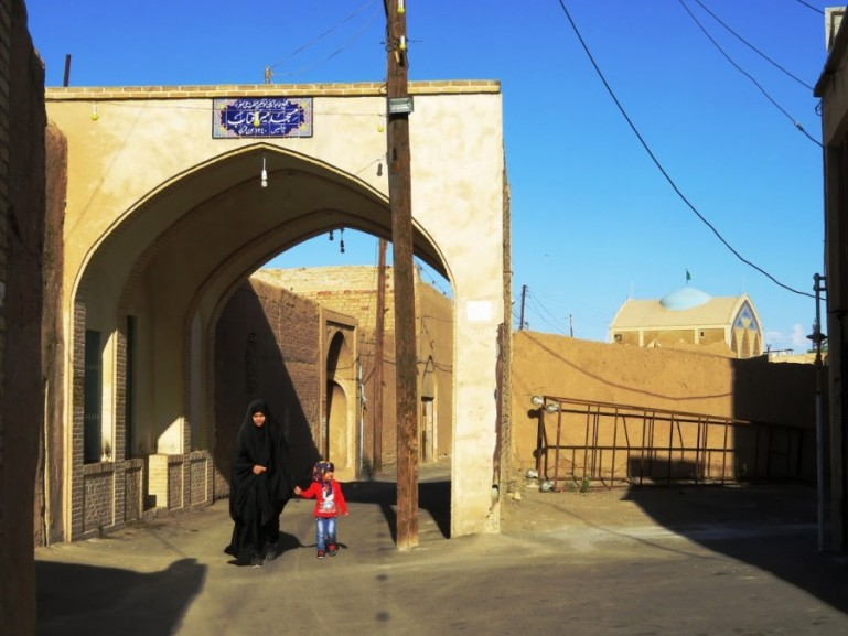 Old town in Kashan Iran