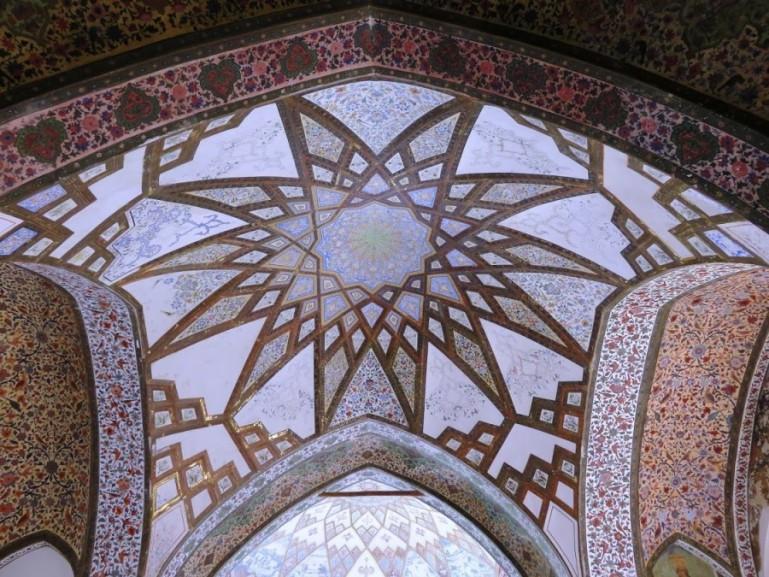 Ceiling at Fin garden in Kashan Iran