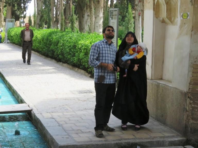 Fin garden in Kashan Iran