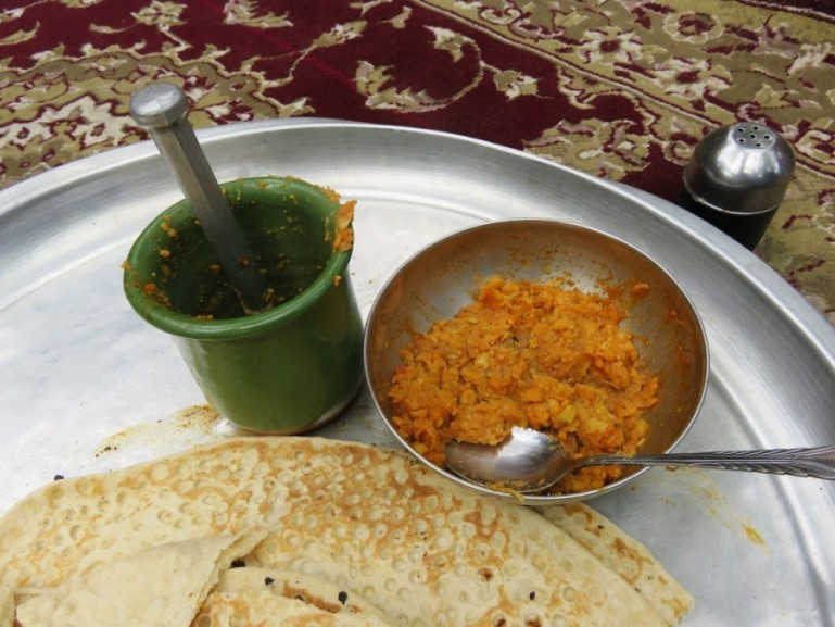 Abgoosht or dishi is a traditional Persian food eaten for lunch