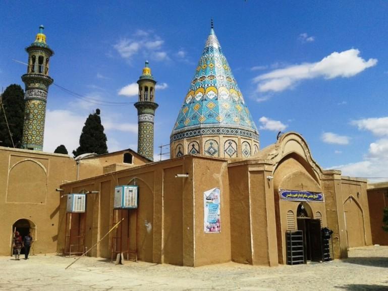 Shahzadeh ye Ibrahim shrine in Kashan Iran