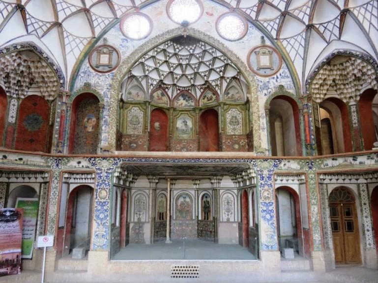 Borujerdi house in Kashan Iran