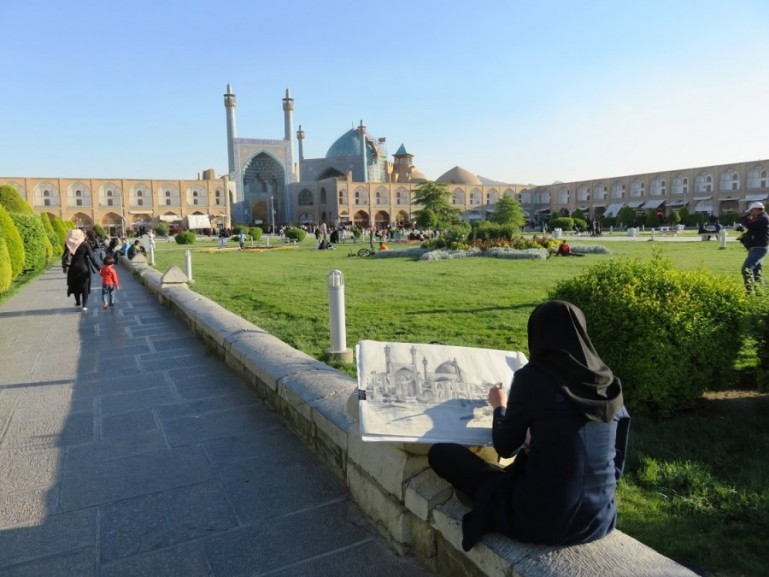Naqsge Jahan square is one of the top things to do in Isfahan