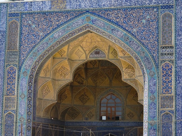 Jameh mosque in Isfahan Iran