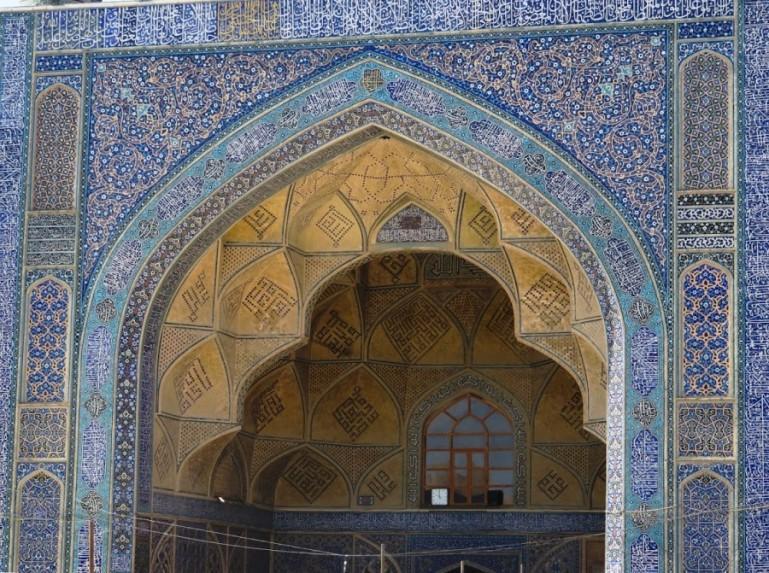 Jameh mosque in Isfahan Iran