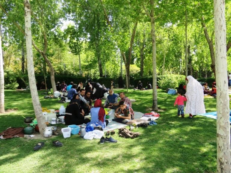 Picnic in Shiraz