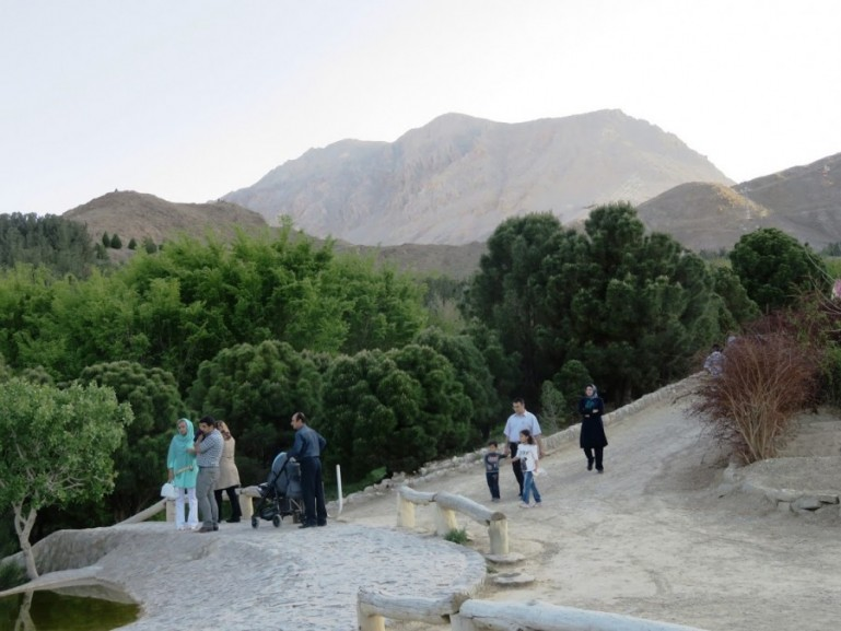 Soffeh mountain park is one of the best things to do near Isfahan