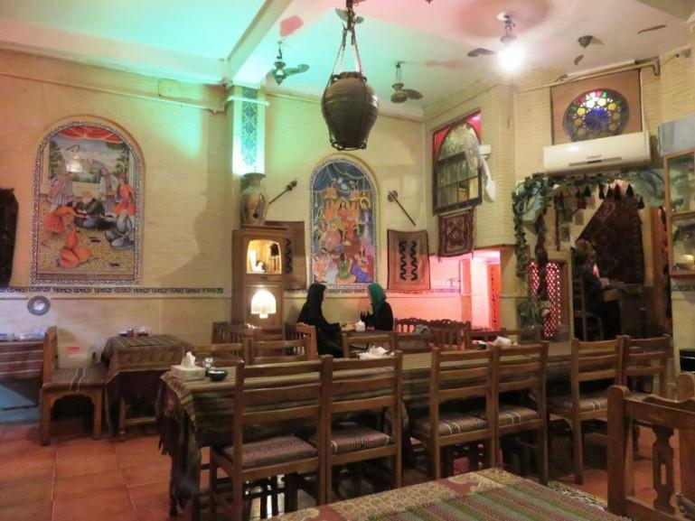 Saray-e Mehr restaurant in Shiraz