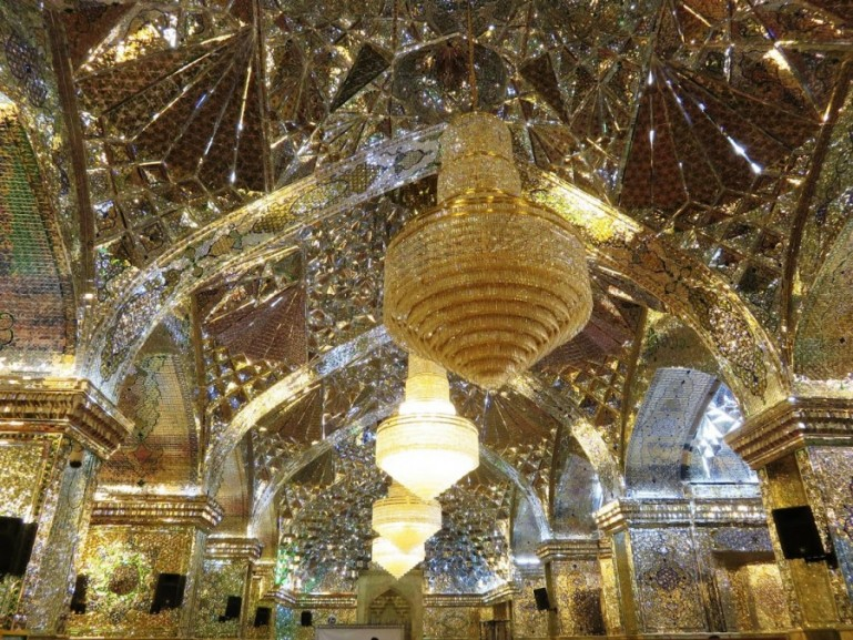 The shah-e cheragh shrine is onr of the top things to do in Shiraz