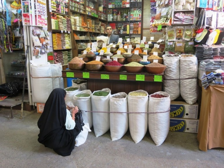 the vakil bazaar in Shiraz is one of the best things to do in Shiraz
