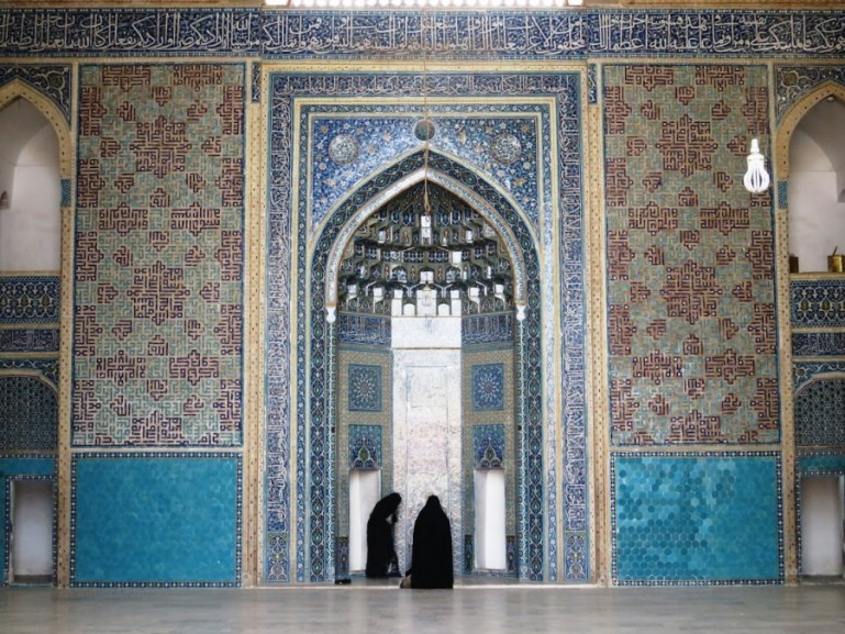 The blue mosque is among the top things to do in Yazd