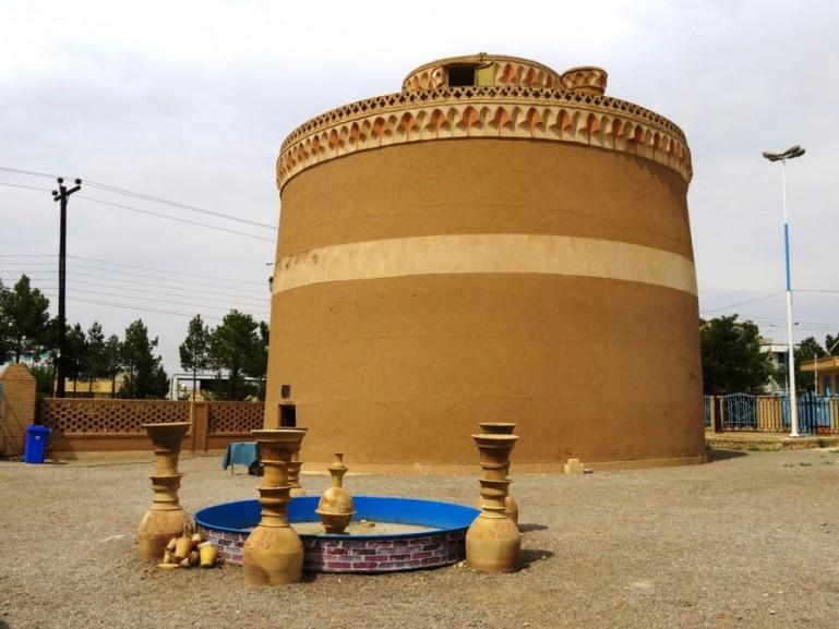 a pigeon house in Meybod near Yazd Iran