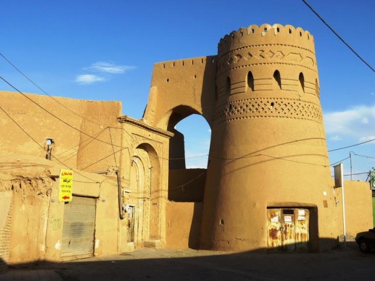 The old town of Yazd was my favourite thing to do in Yazd