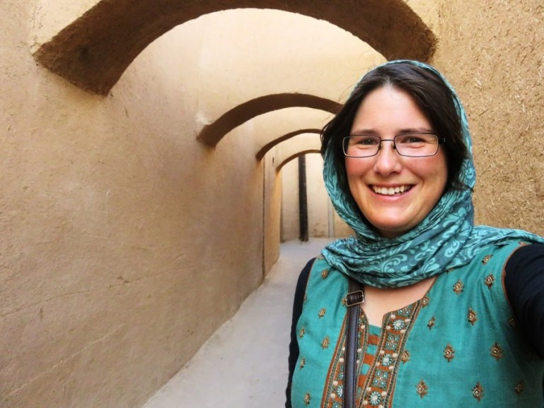Ellis, as a solo female traveller in Iran