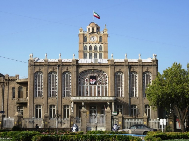 Municipall hall in Tabriz