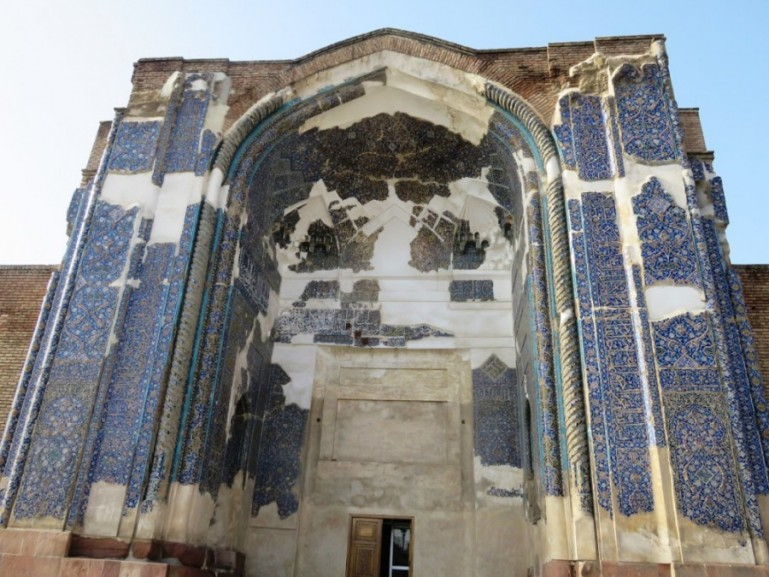 the blue mosque is among the top things to do in Tabriz