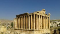 Visiting Baalbek in Lebanon's Bekaa valley