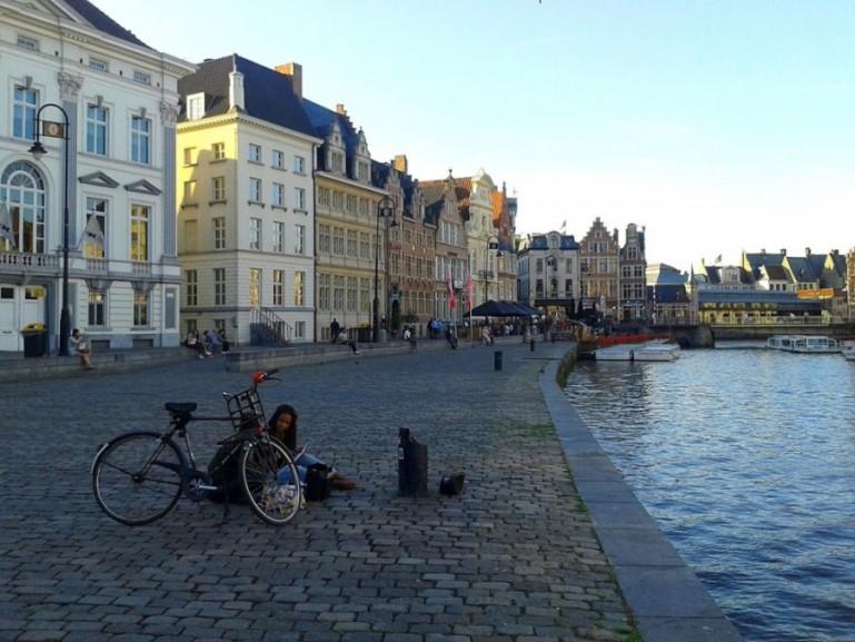 Ghent in Belgium