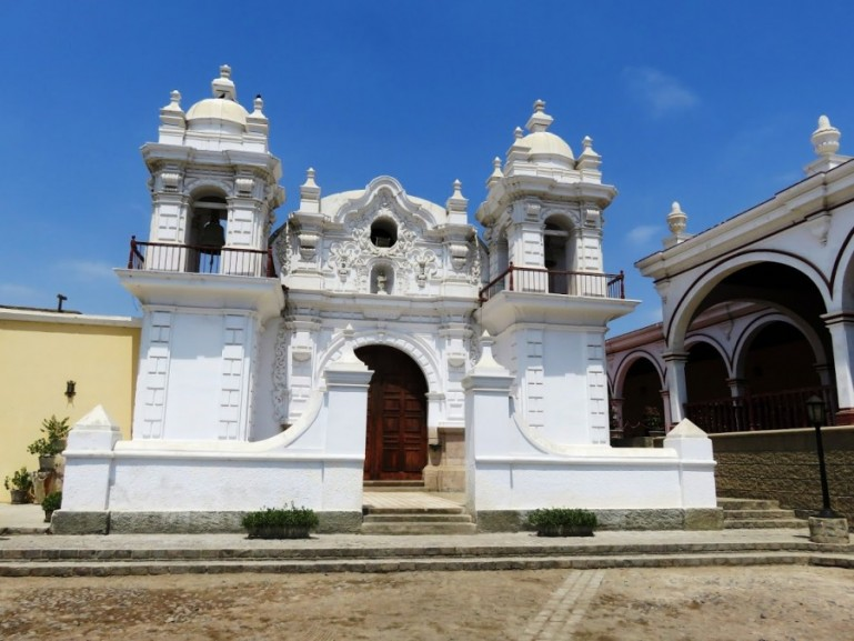 Hacienda San Jose in Chinca. One of the stops you make with Peru Hop on the way from Lima to Machu Pichu