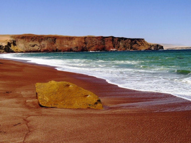 Paracas Natural Reserve in Ica Peru