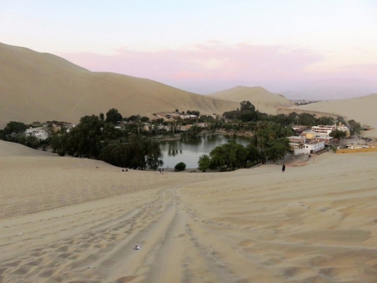 Huacachina desert oasis is among the top things to do in Ica for adventure