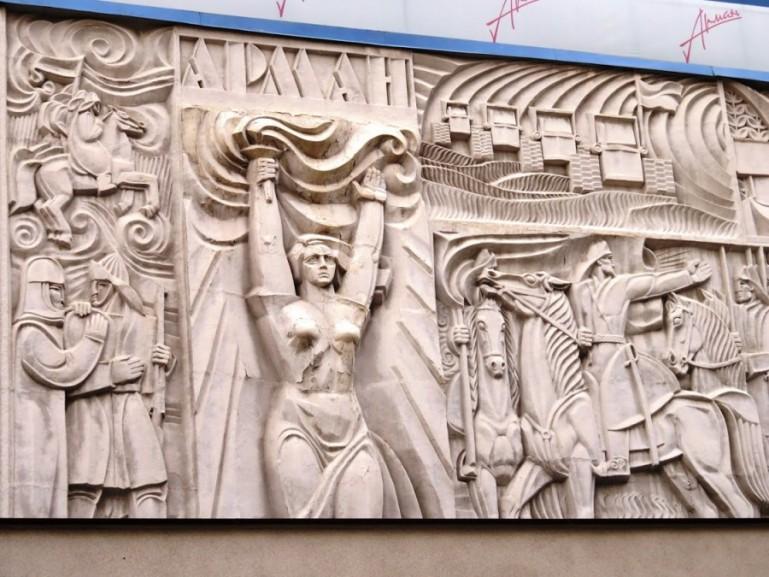 Soviet Art in Almaty