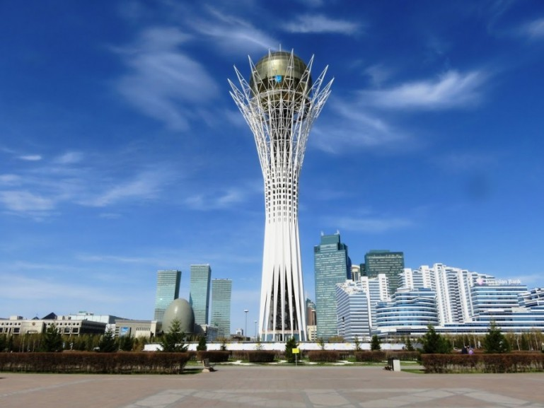 The Bayterek tower is among the top things to do in Nursultan Astana