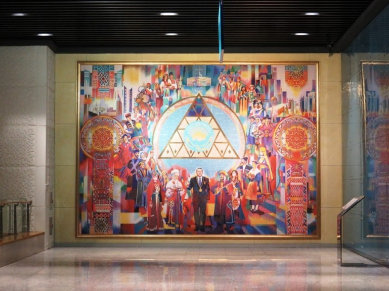 The national museum of Kazakhstan is among the top things to do in Nursultan Astana