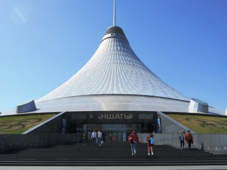 The Khan Shatyr is among the top things to do in Nursultan Astana