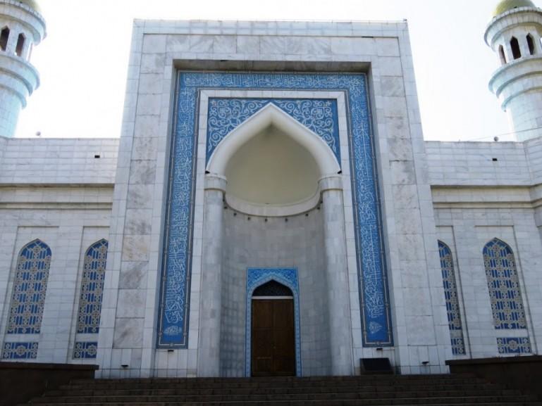 Central mosque in Almaty Kazakhstan