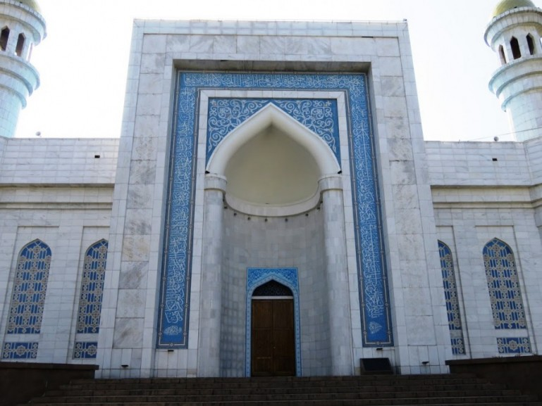 Central mosque in Almaty Kazakhstan