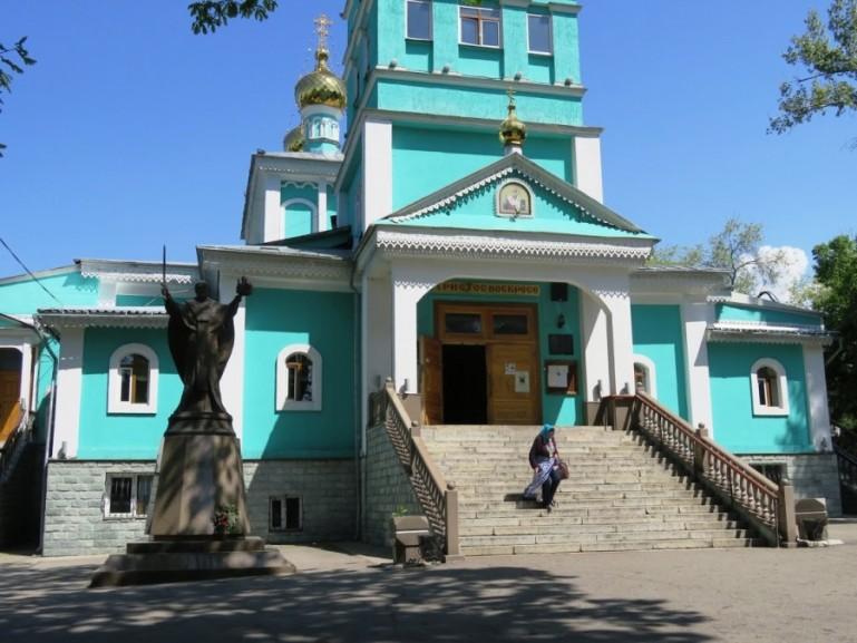 Nikolski Cathedral in Almaty