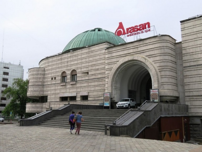 Arasan baths in Almaty Kazakhstan