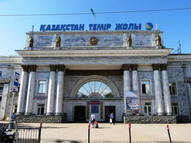 Almaty train station