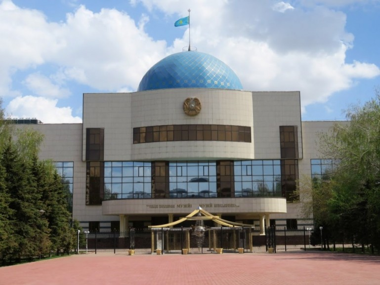museum of the first president in Nursultan Astana