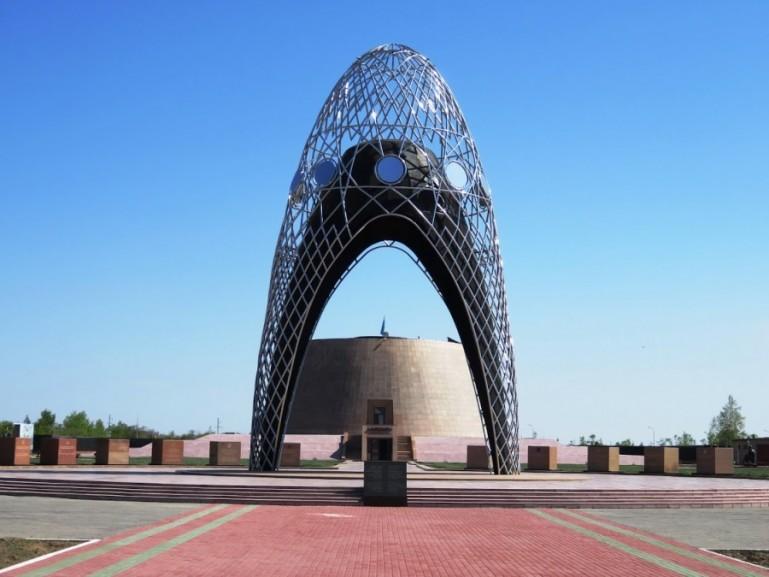 Memorial of alzhir in malinovka near Nursultan Astana