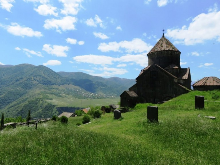 Haghpat monastery in the Debed Canyon in Armenia
