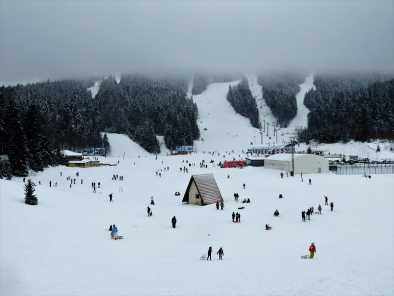 Bjelasnica and Olympic Mountain in Bosnia