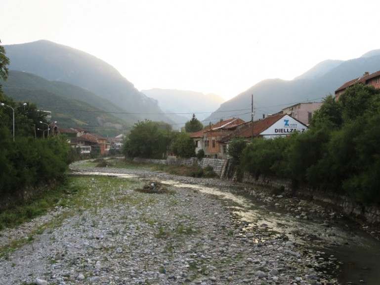 Peja mountain sceneries in Kosovo. Make sure to include Peja in your Kosovo itinerary