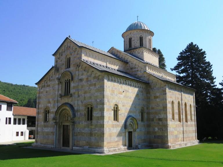 Monastery of Decani in Kosovo